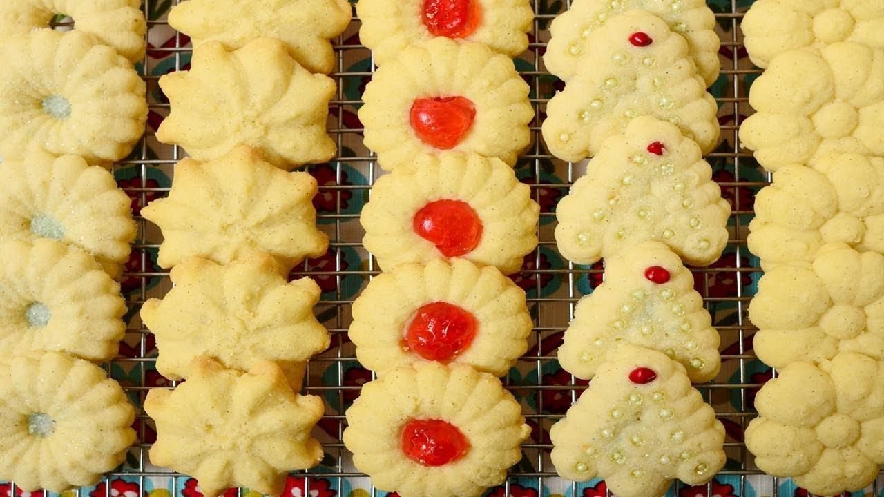 Spritz Cookies Recipe Video