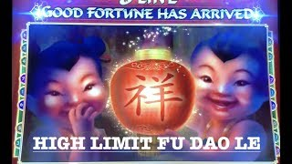 HIGH LIMIT FU DA0 LE HANDPAY & BONUS ROUNDS $38 SPINS