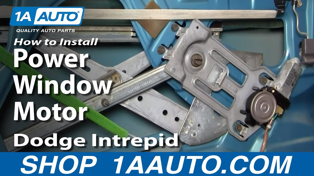 hight resolution of how to replace rear power window motor 93 97 dodge intrepid
