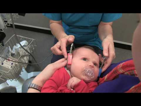 Hearing Test - Infant Hearing Screening