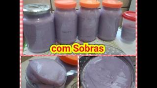 SABÃO CONCENTRADO PASTA COM SOBRAS
