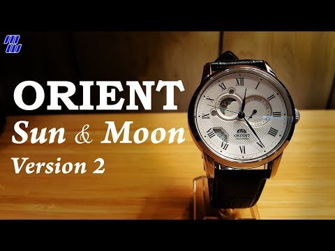 Orient FET0T002S0 Sun and Moon v2 - Review and Measurements