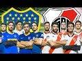 BOCA vs RIVER | DESAFIO en cancha de 5