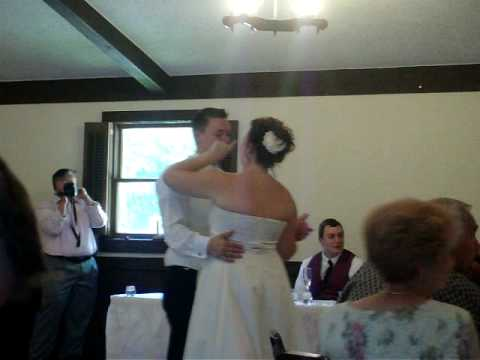 emily and curtis' wedding- first dance as husband and wife