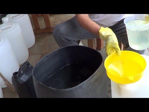 Água Sanitária - Como Fazer