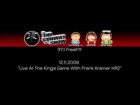 Tim Conway Jr - Live At The Kings Game With Frank Kramer HR2 [12.11.2008]