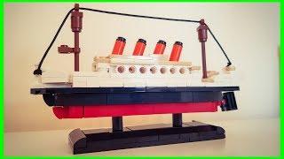 SLUBAN / LEGO COPY TITANIC SPEED BUILD !!!
