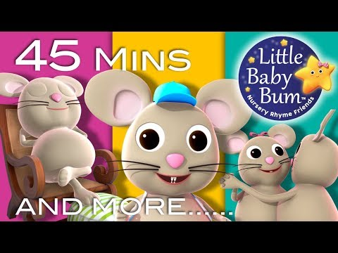 Solomon Grundy | Plus Lots More Nursery Rhymes | 45 Minutes Compilation from LittleBabyBum!