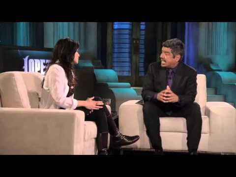 "Michelle Rodriguez Talks About Her New Movie ""Battle Los Angeles"" on Lopez Tonight 3-2-11"