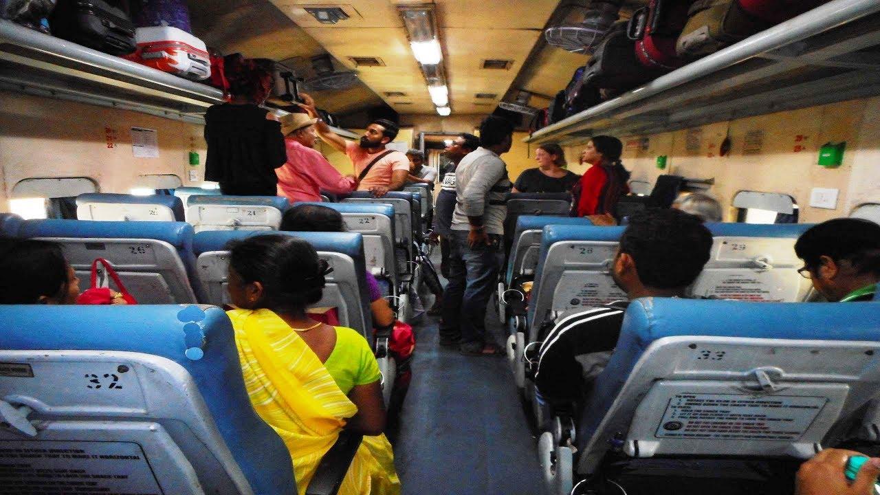 ac chair car seating arrangement indian railways chair car coach