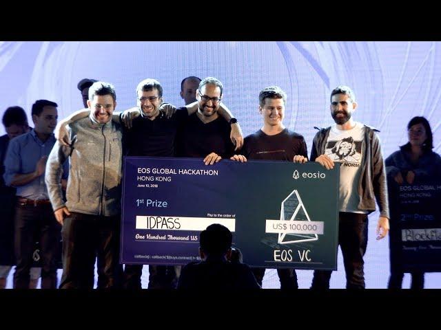 EOS Global Hackathon Hong Kong 1st Prize Winner IDPass