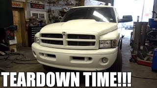 tearing-down-the-2nd-gen-cummins-in-one-day