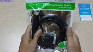 Cáp chuyển đổi HDMI to DVI 1,5m HD106 chính hãng Ugreen UG-11150
