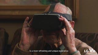 LG V30: VR Video - Jim Lovell (Making)