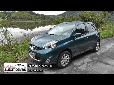 Nissan March 2015 - Detalhes - NoticiasAutomotivas.com.br
