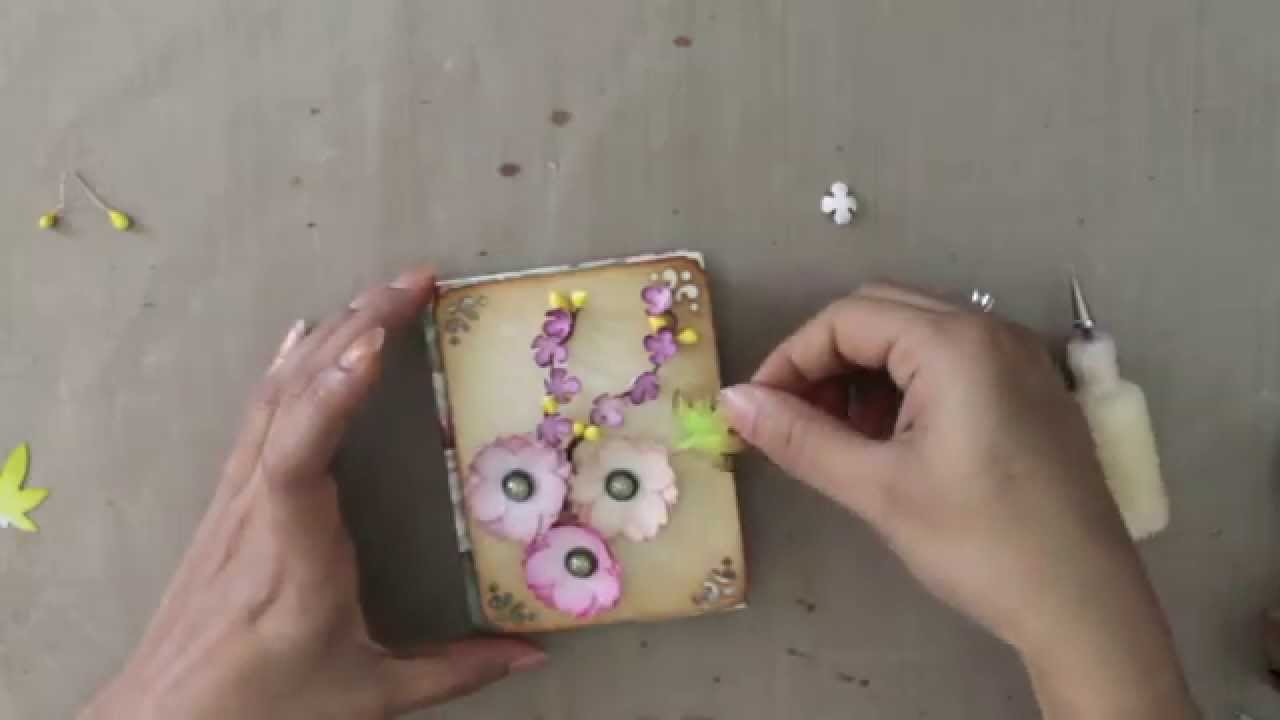 How To Make Paper Flowers With Punch Craft Youtube