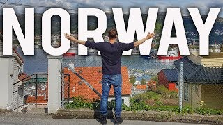 I ENDED UP IN NORWAY!