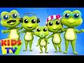Frog Finger Family | Nursery Rhymes for Kids | Baby Songs | Children Rhymes | Kids Tv Cartoons