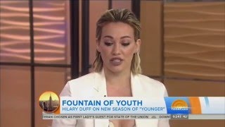 Hilary Duff on Today Show - January 12th 2016