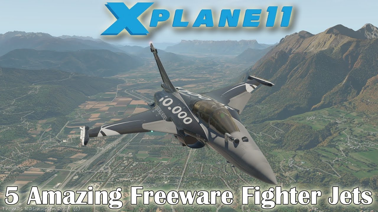 [X-plane 11] 5 Amazing Aircraft (Fighters) for X-plane (Part 4)