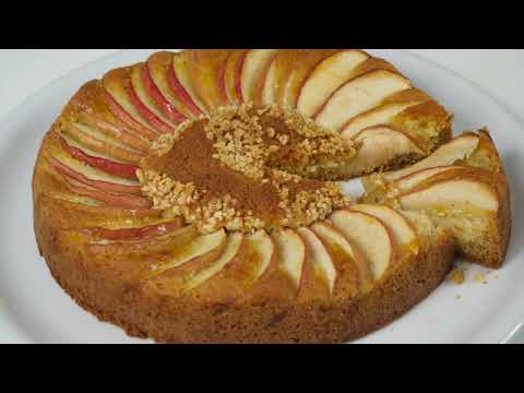 recette-cake-aux-pommes-moelleux-facile-et-rapide/كيكة-التفاح-الراقية-ببيضتين-و-بطريقة-بسيطة-تحمممق