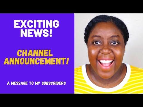 Second Channel Announcement!!