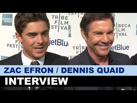 Zac Efron & Dennis Quaid Interview 2013 - At Any Price : Beyond The Trailer