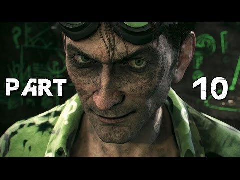 Batman Arkham Knight Walkthrough Gameplay Part 10 - Riddler (PS4)