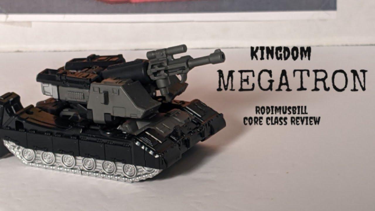 Transformers Kingdom Core Class MEGATRON - Rodimusbill Review
