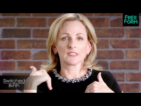 Switched at Birth  Thank You from Marlee Matlin  Freeform