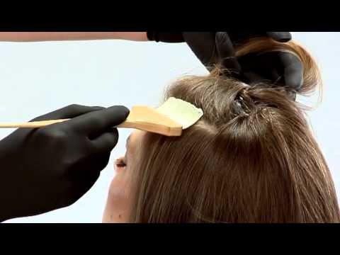 La máscara para los cabellos de la glicerina y el huevo