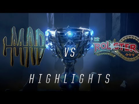 MAD vs. KT - Worlds Group Stage Day 3 Match Highlights (2018)