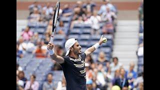 Thomas Fabbiano vs. Dominic Thiem | US Open 2019 R1 Highlights