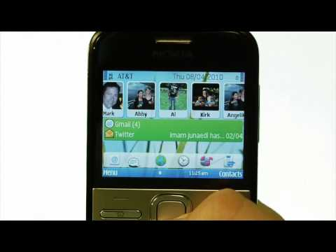Nokia E5 Messaging Experience Demo