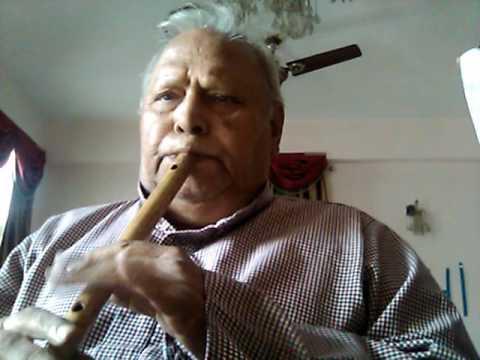 bol radha bol sangam hoda ki nahin  - sangam 1964- on flute kkbhatnagar