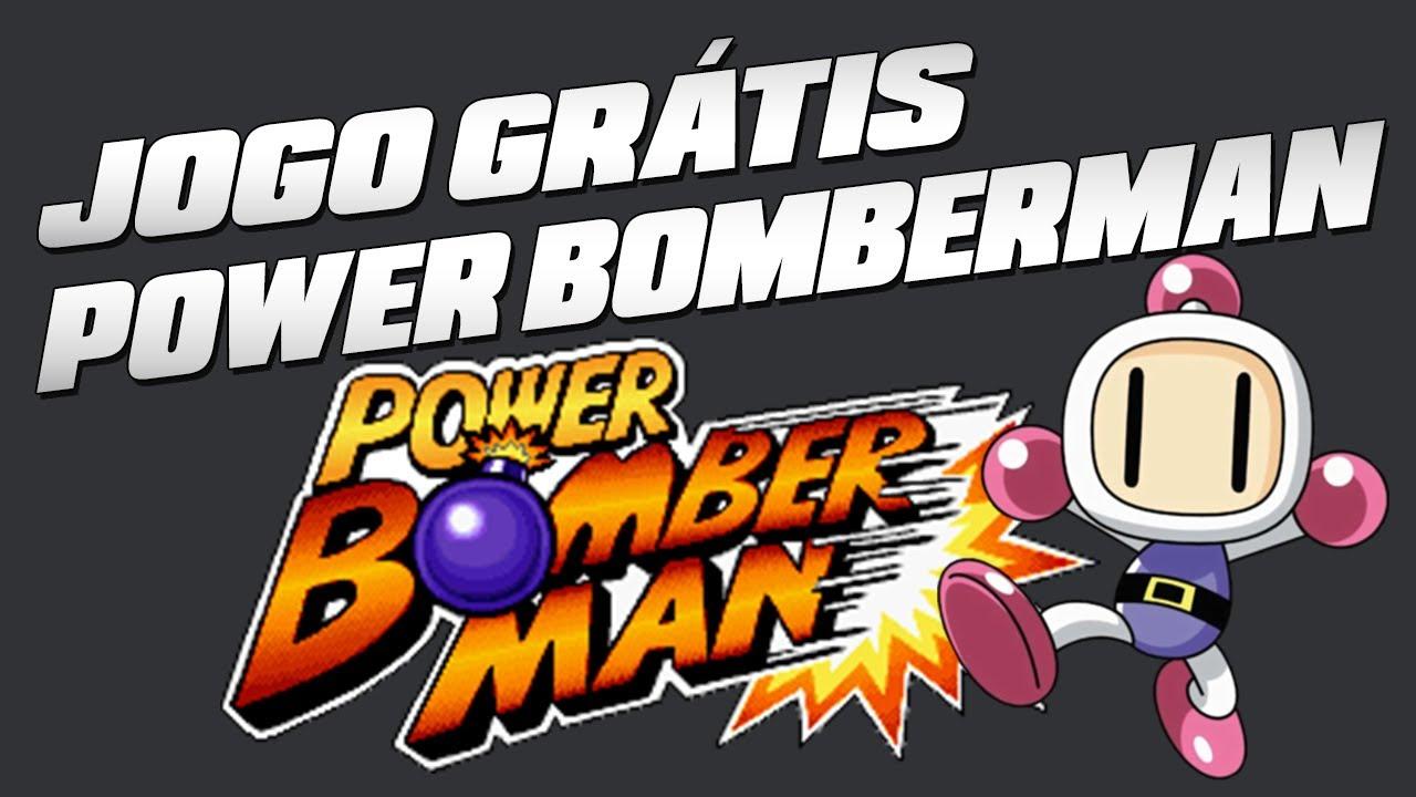 Jogo GRÁTIS Power Bomberman