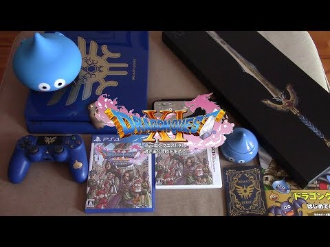 The Ultimate Dragon Quest XI Unboxing