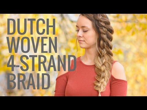 Dutch Woven 4 Strand Braid   Braids by Jordan
