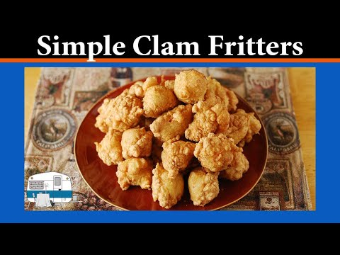 How to cook Clam Fritters