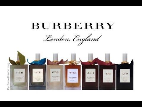 Burberry Bespoke Perfume Collection Youtube