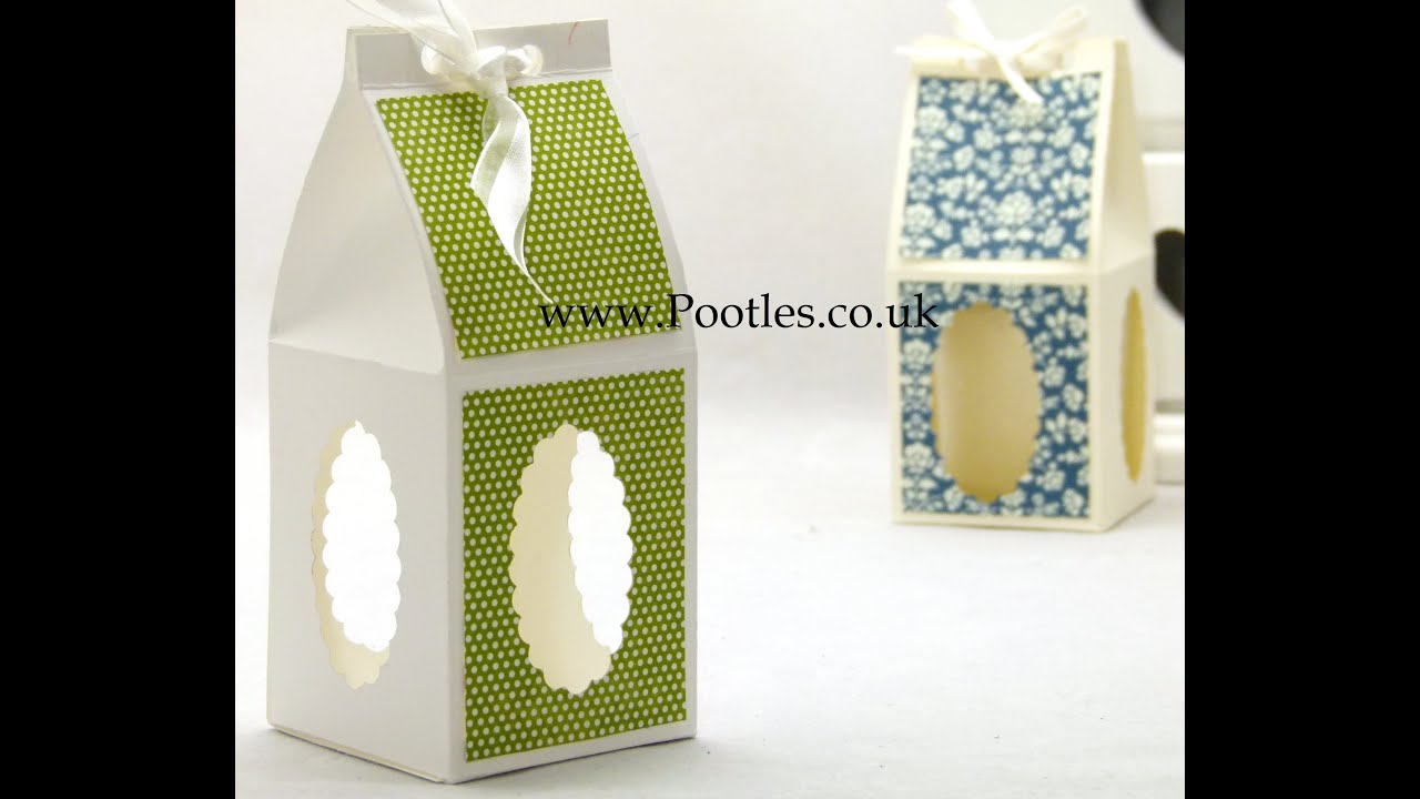 & Stampin Up UK Treat Gift Candle Box with Windows - YouTube Aboutintivar.Com