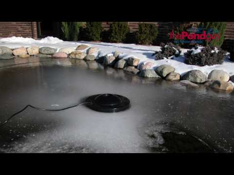 Water Garden De-Icer - Protects Fish All Winter