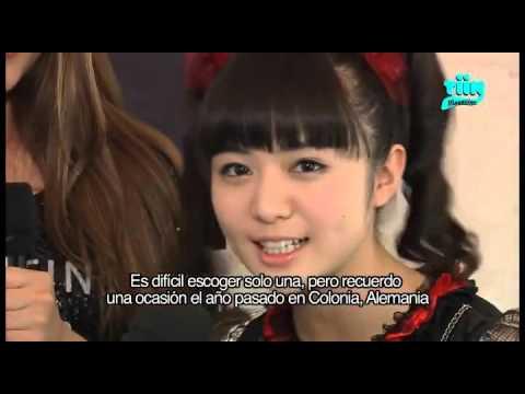 Tiin Magazine Babymetal Interview - Mexico May 9th 2015 Circo Volador