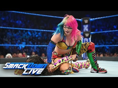 HINDI - Asuka vs. Naomi - SmackDown Women's Championship Match: Smackdown LIVE, 18 December, 2018