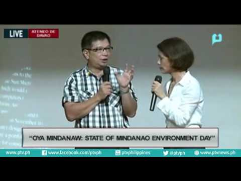 DENR Secretary Gina Lopez at the OYA MINDANAWI State of Mind