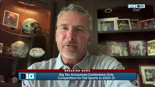 Urban Meyer on Conference-Only Schedule in 2020-21 Fall Season | Big Ten Athletics