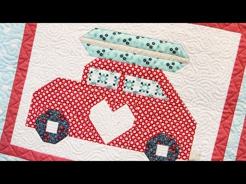 Snapshots Quilt Along Block Ten: Gone Surfin' Pattern – Fat Quarter Shop