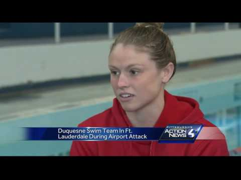 Duquesne University swimmers reunited on the Bluff after Fort Lauderdale airport shooting