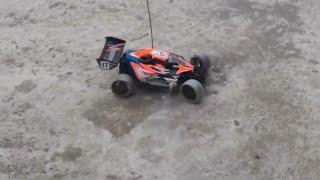 Rc Nitro car drifting in Bangladesh (Thunder-tiger Tomahawk  bx drifting )