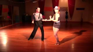 Ballroom Cha Cha Show at DF Dance Studio